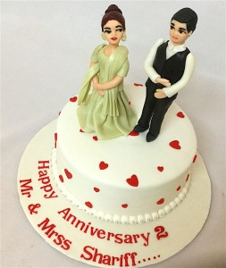 Anniversary Cake For Love