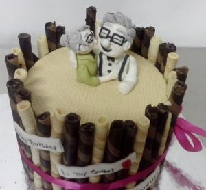 Ageless Love Valentines Cake