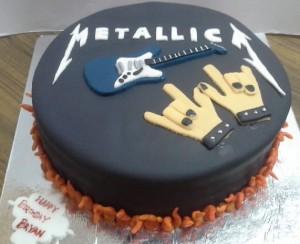 Metallica Cake 1.5 Kg