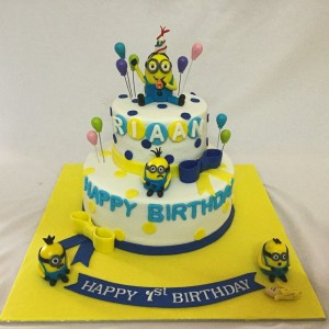1st Birthday Minion Cake