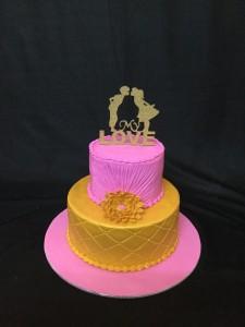 My love Anniversary Cake