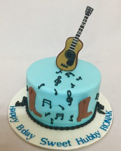 Guitar Passion Cake 1 Kg
