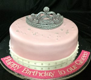 Queen Tiara Birthday Cake