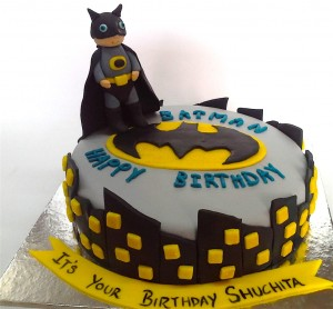 Little Batman Cake for Birthday