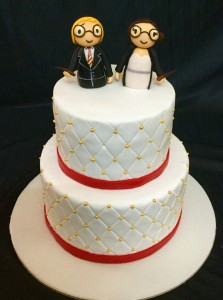 Harry Potter theme Wedding Cake