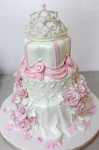 Princess theme Customized Birthday Cake