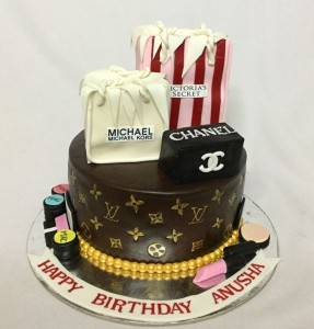 Birthday Cake Cosmetics Theme