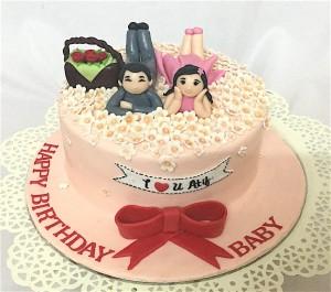 ILUBaby Birthday Cake