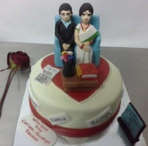 Mom & Dad Cake