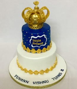 Little Prince's Customized Birthday cake