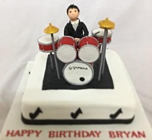 Drummer Cake 1.5 Kg