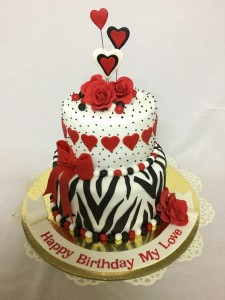 Valentine for Love cake