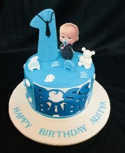 Little Boss Customized Birthday Cake