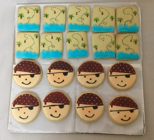 Pirates themed Cookies