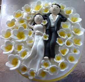 With U Always- Valentine theme Cake