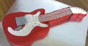 Guitar Cake 2 Kg