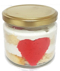 Love in a Jar - 2 Cake jars