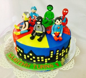 Avenger theme Birthday Cake
