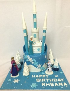 Birthday Cake Frozen Theme
