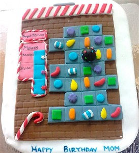 Candy Crush Cake 1 kg