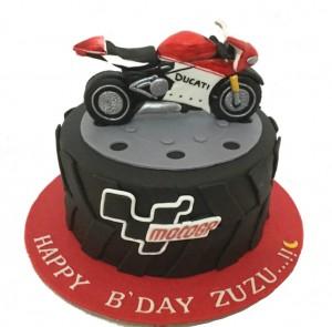 Motor Bike Designer Cake