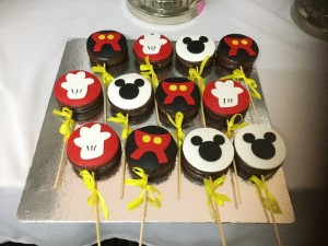 Mickey Pies for kid's party