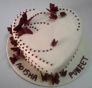 Pure Heart Valentines Cake