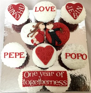 We Together Valentine CupCakes 10 nos