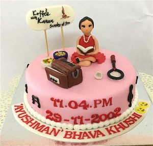 Khushi's Musical Cake 1 Kg