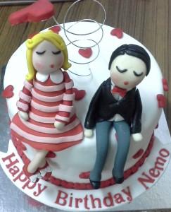 HumTum Valentine Cake