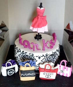 Fashion Designer Birthday Cake