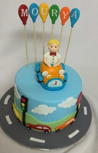 Theme Smarty Boy Birthday Cake