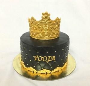 Tiara Theme Cake
