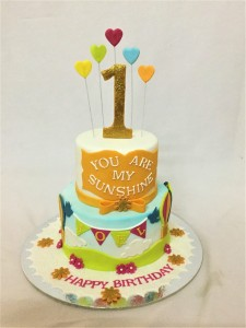 Sunshine Birthday cake