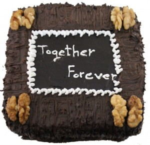 Forever Together Choco Cake