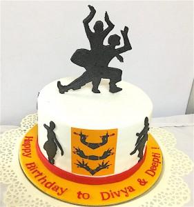 Classical Dance Cake 1.5 kg