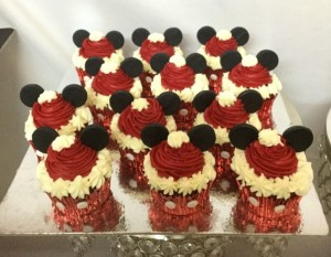 Mickey Cupcakes for Birthday