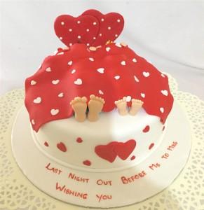Heart2Heart- Valentine Cake