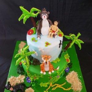 Kung fu Panda Birthday Theme Cake
