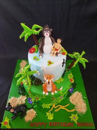 Pleasant Kung Fu Panda Birthday Theme Cake Funny Birthday Cards Online Elaedamsfinfo