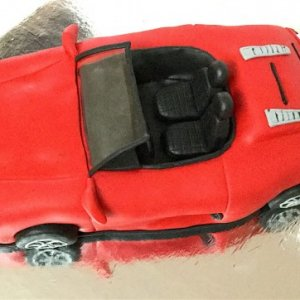 Coupe Car Birthday Cake Order Online