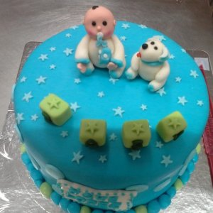 1st Birthday Baby's Day out theme Cake