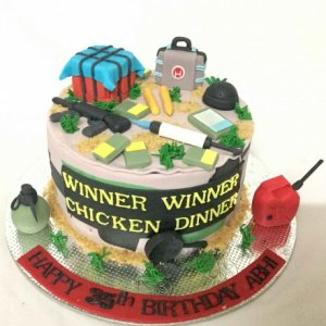 PUBG Lover Designer  Birthday Cake