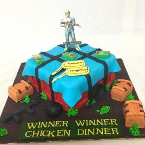 PUBG Terminator Designer Birthday Cake