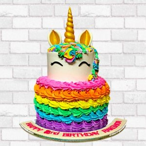 Birthday Cake Unicorn theme