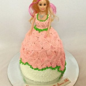 Barbie Birthday Cake Online