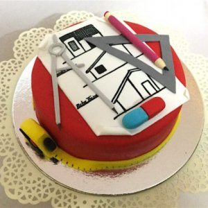Architect Theme Cake 1 kg