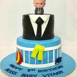 Boss baby Theme Designer Birthday cake