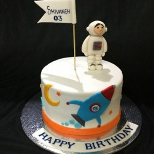 Birthday Cake Rocket theme