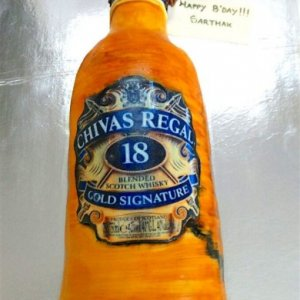 chivas regal Theme Cake